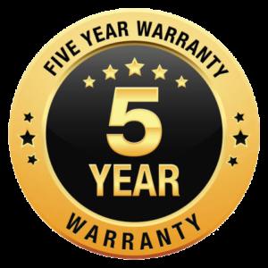 5 Year Warranty Arcade Games