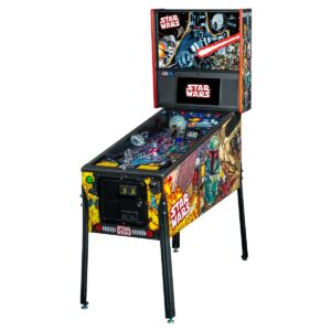 Star Wars Comic Art Premium Pinball Machine