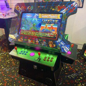 Elite Cocktail Super Arcade with Flip Top
