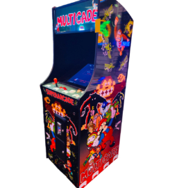 Multicade Upright 412 Games in 1 2